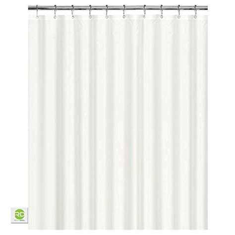 all around shower curtain 71 off white shower curtain 100 waterproof eco