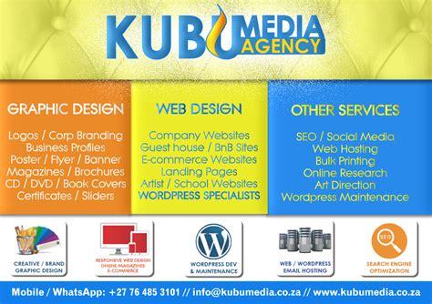 design poster website graphic poster advert design kubumedia agency logo