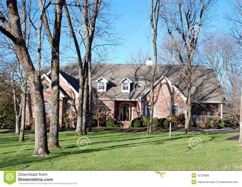 have a wooded lot time to build a forest book nook american home on wooded lot 46 royalty free stock photo