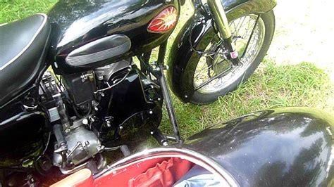 Motorrad Gespanne Diesel by Www Dieselmotorrad Net Bsa Diesel Gespann A7 Youtube