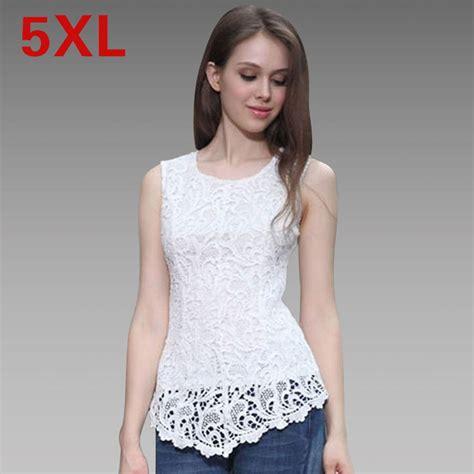 Keira Top Lace Blouse Hijaber 2015 chiffon lace blouse plus size clothing 5xl black sleeveless top blouse yellow crochet