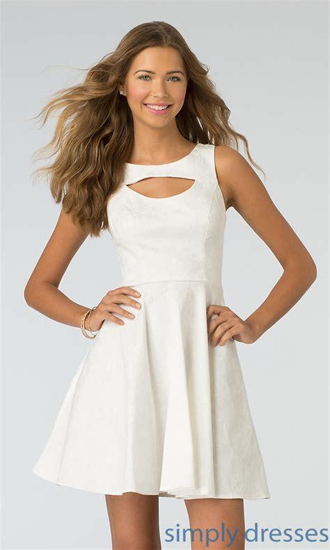White Neck Dress high neck dress xoxo white dresses simply dresses