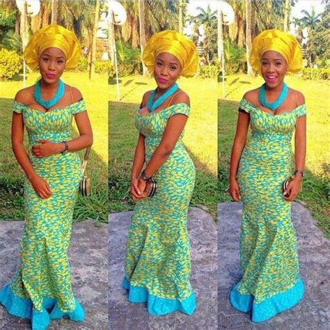 print african fashion nigerian aso ebi styles kente straight dress hairstylegalleries com