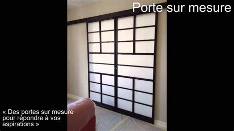Porte Placard Japonais by Zen Wall Les Portes Coulissantes Sur Mesures En Bois