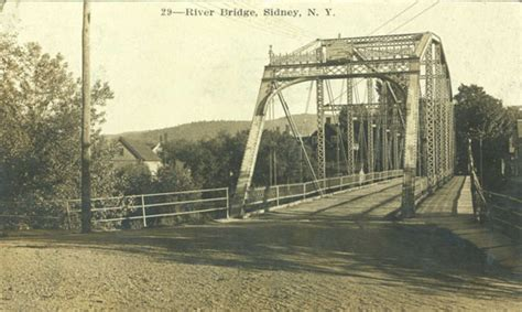 Riverbridge, Sidney - Delaware County NY Genealogy and ...