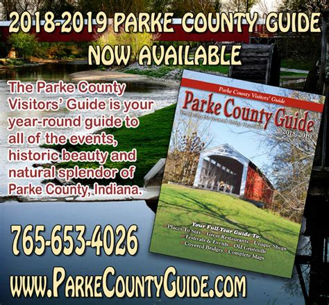 parke county guide parke county covered bridge festival visitors guide rockville indiana