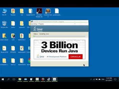 install windows 10 java how to install jdk 9 java 9 on windows 10 youtube