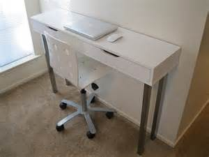 Narrow Desks For Small Spaces Narrow Desk Could Be Great For Small Spaces For The Home Ikea Products Small