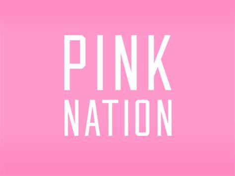 pink nation wallpaper pink vs wallpapers for desktop wallpapersafari