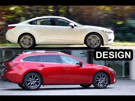"2016 mazda 6 ""sedan and wagon"" [what's the difference"