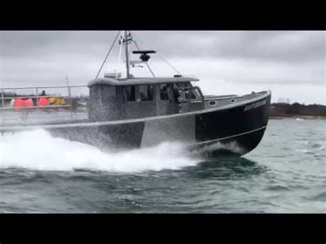 wesmac lobster boats wesmac super 46 just launched youtube