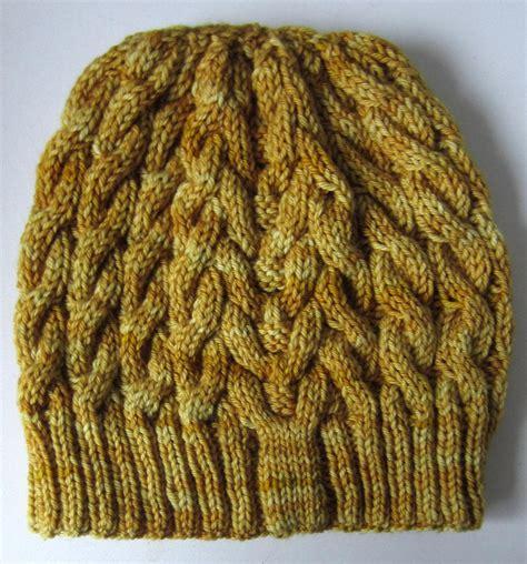 allfree knitting cabled beanie allfreeknitting