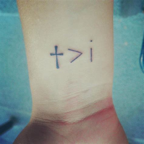 he is greater than i tattoo he i tattoos he is greater than i www pixshark