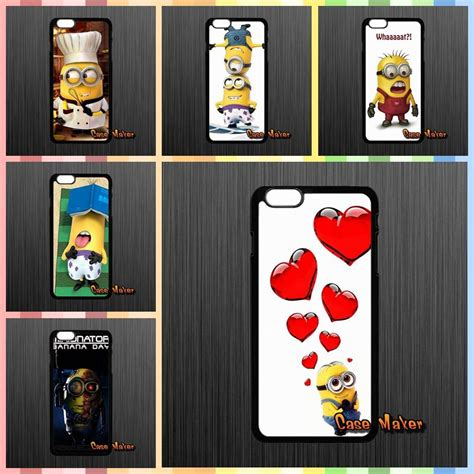Iphone 4 4s Minions Pattern Hardcase buy expression despicable yellow minion pattern back skin
