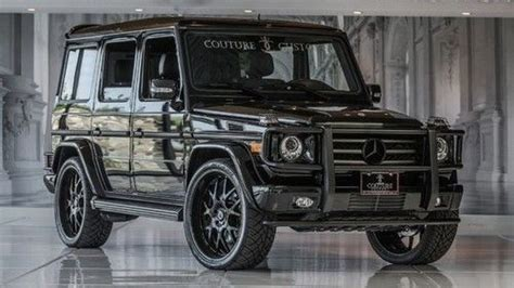 mercedes g class blacked out sell used low warranty blacked out g55 loaded