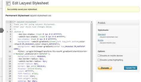 layout wordpress plugin get lazyeststylesheet plugin for wordpress theme