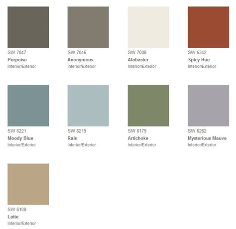 sherwin williams paint palette moody blue i see the world in color