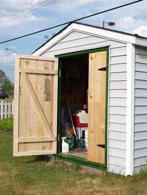 shed doors ideas  pinterest shed garden shed