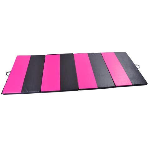 Pink Tumbling Mat by Soozier 4 X 10 Folding Gymnastics Mat Pink Black