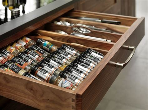 Drawer Inserts For Spices by Our Spice Drawer Inserts Kitchen Inspiration