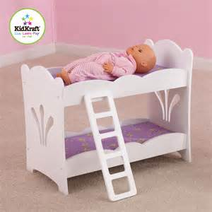 bed dolls kidkraft lil doll bunk bed by oj commerce 60130 41 04