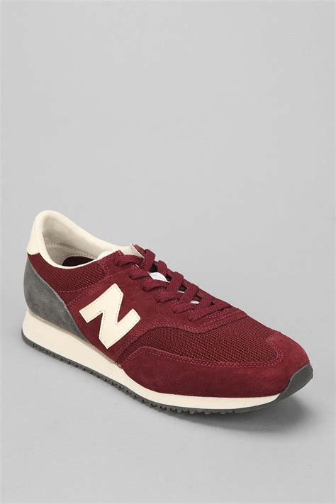 new balance 620 sneaker new balance suede 620 sneaker in for maroon lyst