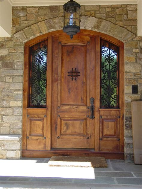 Top 15 Exterior Door Models And Designs Mostbeautifulthings Wood Front Entry Door