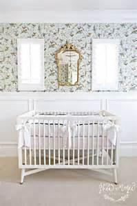 Hummingbird Crib Bedding Wallpaper For Nurseries Transitional Nursery Tracey Ayton Photography