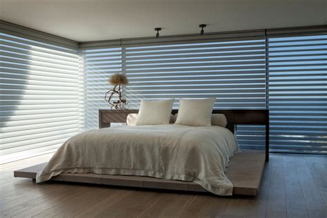 window shades for house bedroom blinds beach house in laguna beach california