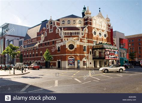 house music belfast the grand opera house great victoria street belfast victorian stock photo royalty