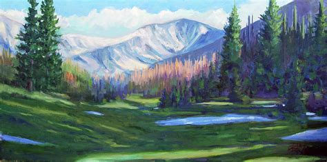 rockies colors colors in the rockies painting by billie colson
