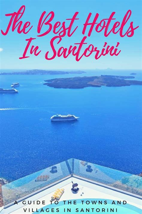 best places to stay santorini where to stay in santorini best areas to stay in