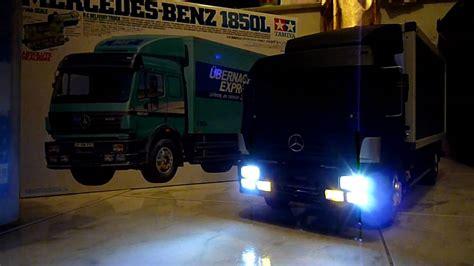 Tamiya 114 Rc Mercedes 1850l tamiya 1 14 rc truck mercedes 1850l 雙星 1 14 遙控貨車 平治 1850l