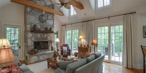 Renovate Living Room On A Budget Family Room In Remodeled Home With Brick Fireplace Living