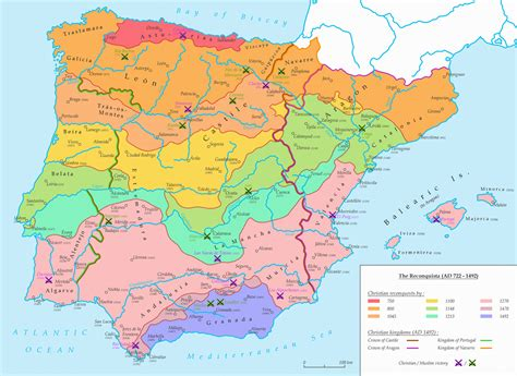 reconquista del reino de the reconquista ad 722 1492 by undevicesimus on