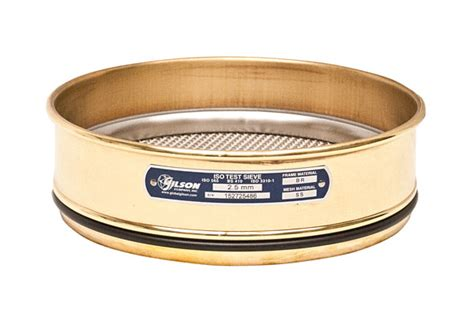 10 stainless steel sieve 200mm sieve brass stainless height 10mm gilson co