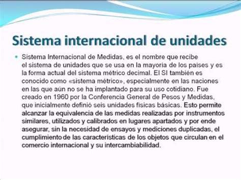 sesion 3 sistema internacional de unidades unidades de medida doovi
