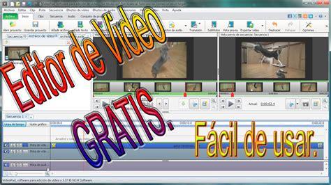 editor de imagenes jpg gratis programa editor de video gratis y f 225 cil de usar