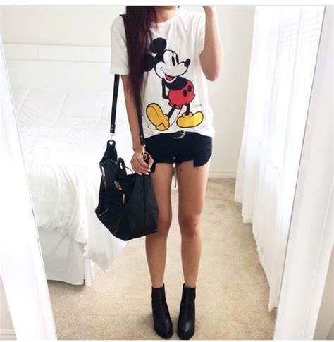 Mickey Top Blouse Xl shop 2015 new fashion t shirt mickey and