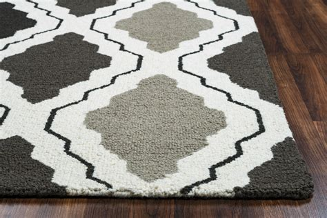 two grey rugs country trellis pattern wool area rug in grey white 2 x 3