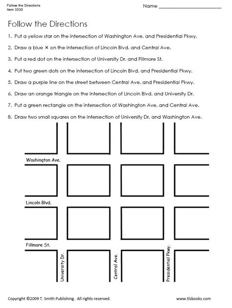 Printable Map Directions
