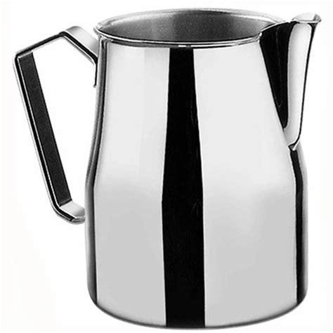 Motta Milk Jug Black 500ml metallurgica motta europa milk jug talk coffee