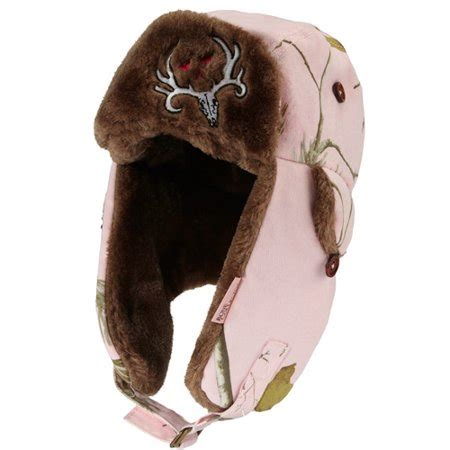 Bone Collector Ladies Pink Helmet With Realtreee Camo And Camo Bone Collector