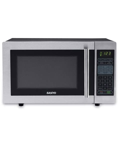 Microwave Sanyo Sanyo Mid Size Microwave Oven Em S6588s Review