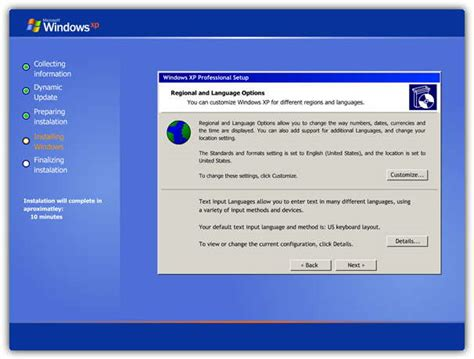 installing xp on windows server 2008 run a simulation on how to setup or install windows xp
