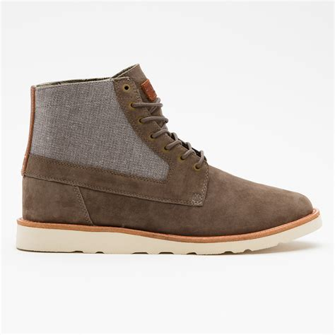 vans boots for vans white sole boots with herringbone panel soletopia