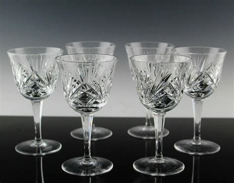 gorham barware cherrywood wine glasses by gorham crystal from the rose gallery on ruby lane