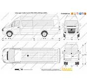 The Blueprintscom  Vector Drawing Volkswagen Crafter