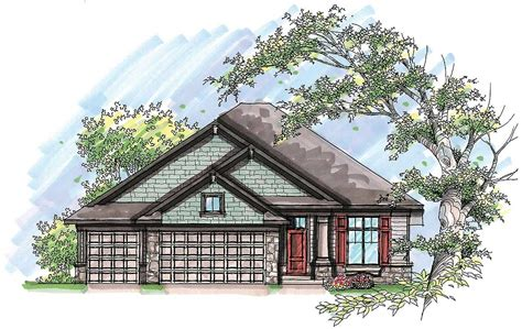 craftsman ranch house plan 890046ah architectural designs craftsman ranch with rustic charm 89747ah