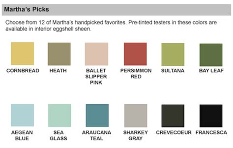 martha stewart paint sensational color paint brand guide